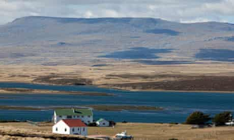 Darwin on East Falkland in the Falkland Islands