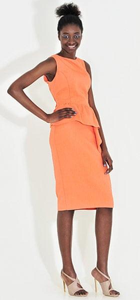 Line-up: peplums: Dress