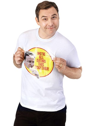 Tory Campaign: David Walliams