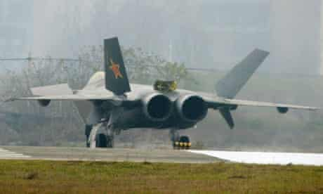 China's J-10 stealth fighter