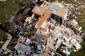 Midwest tornado: Destruction in Campbell County, Kentucky