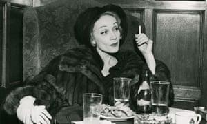 Marlene Dietrich. 1960.