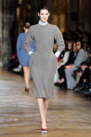 Paris - Stella McCartney: A model in the Stella McCartney Ready-To-Wear Fall/Winter 2012 show