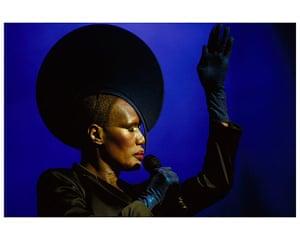 Women in Pop exhibition: She-Bop-A-Lula - Women in Pop photo exhibition - Grace Jones