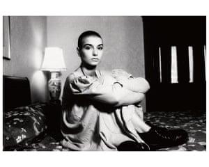 Women in Pop exhibition: She-Bop-A-Lula - Women in Pop photo exhibition - Sinead O'Connor