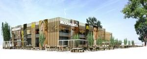 Olympic buildings: McDonald's Olympic Park restaurants