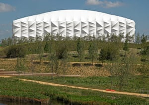 Olympic buildings: Basketball Arena
