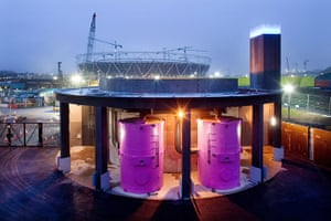 Olympic buildings: Olympic Park Pumping Station