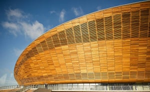 Olympic buildings: Velodrome at the Olympic Park