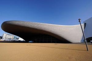 Olympic buildings: London Olympic Aquatics Centre