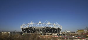 Olympic buildings: Olympic Stadium site, Stratford