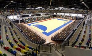 Olympic buildings: Handball Arena