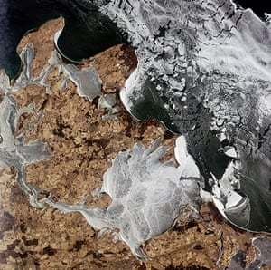 Satellite Eye on Earth: The icy waters of the Baltic Sea