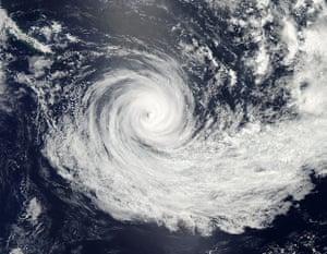 Satellite Eye on Earth: Tropical Cyclone Jasmine