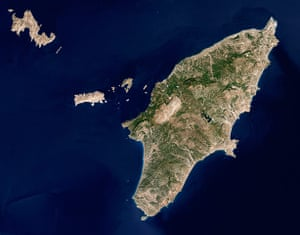 Satellite Eye on Earth: Rhodes is the biggest island in the Greek Dodecanese