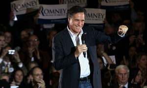 Romney Campaigns In Tennessee
