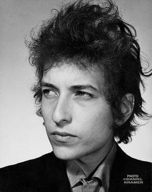 Bob Dylan multimedia show: Biograph album cover