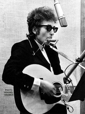 Bob Dylan multimedia show: Bob Dylan Recording
