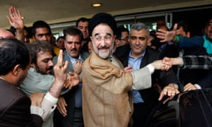 ML Iran presidential election KHATAMI