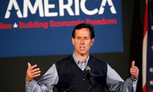 Rick Santorum campaigns In Ohio ahead of Super Tuesday