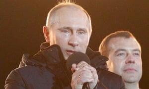 Putin publicly addresses