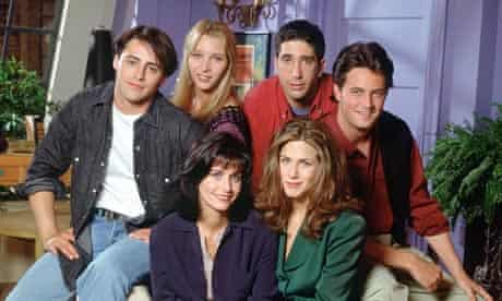 The cast of the TV series Friends