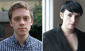 Authors Owen Jones (left) and Laurie Penny