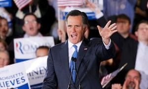 Mitt Romney in Boston