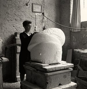 Louise Bourgeois: Louise Bourgeois at Freud Museum - working on Sleep II in Italy