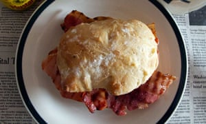 Felicity's perfect bacon sandwich