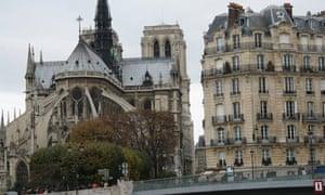 Notre Dame cathedral in Paris. Photograph: Paul Owen