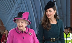 The Queen and the Duchess Of Cambridge inspect the new St Pancras International in London