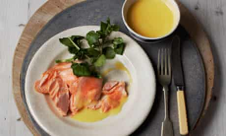St Patrick's Day recipe: poached salmon with Irish butter sauce