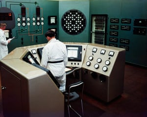 Windscale: Control Room at Calder Hall Nuclear Power Plant