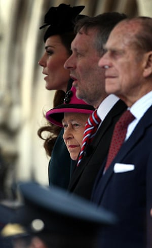 Royals in Leicester: Queen, Duke and Duchess at Leicester's Clock Tower