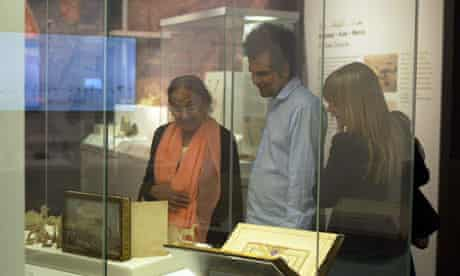 Sarfraz Manzoor and family, Hajj show, British Museum