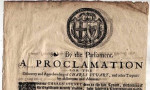 Charles II wanted poster II