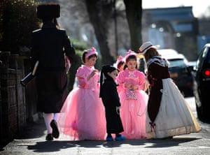 Purim Festival: The Jewish religious festival of Purim