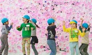 Fukushima's nursery schoolchildren enjoy a Red Cross-organised play facility