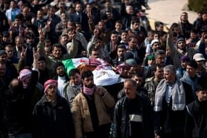 Inside northern Syria: The funeral of Abdulaziz Abu Ahmed Khrer in Idlib