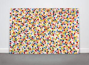 Damien Hirst: Spot Painting, 1986