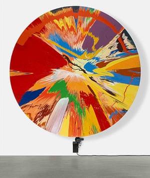 Damien Hirst: Beautiful, childish, expressive, tasteless