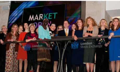 50 leading businesswomen open teh London Stock Exchange
