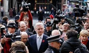 Julian Assange high court