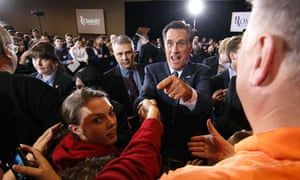 Mitt Romney campaign trail