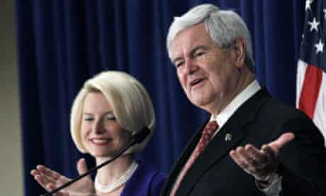 Newt Gingrich, Callista Gingrich in Mississippi