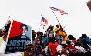 Trayvon Martin march: Trayvon Martin protest march