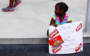 Trayvon Martin march: Camryn Thomas at Trayvon Martin rally