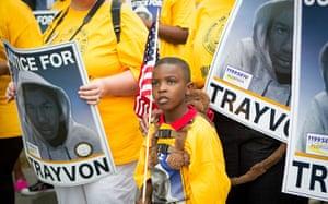 Trayvon Martin march: Trayvon Martin Rally in Sanford