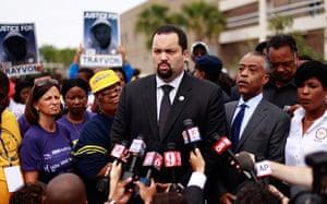 Trayvon Martin march: Benjamin Jealous at Trayvon Martin rally